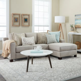 Small Sectional Sofas & Couches for Small Spaces   Overstock.c