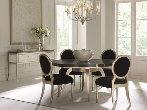 Table Dance - This refined dining table is high-impact and almost .
