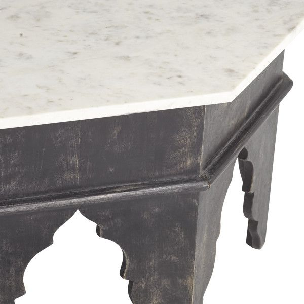 CASABLANCA COFFEE TABLE | Wisteria | Marble top coffee table .