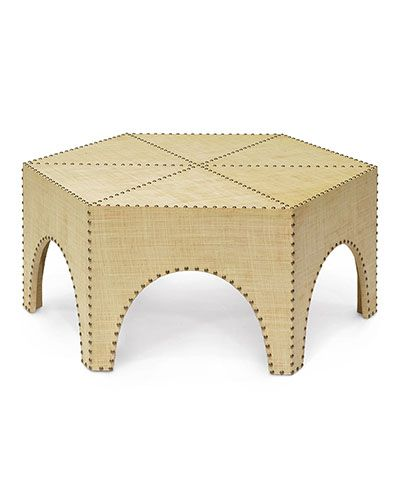 Casablanca Coffee Table in 2020 | Hexagon coffee table, Coffee .