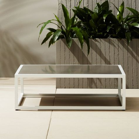 Casbah Outdoor Low Side Table + Reviews in 2020 | Modern side .
