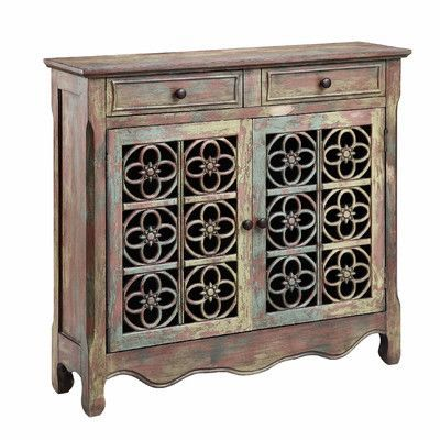 Bungalow Rose Jeter 2 Drawer 2 Door Accent Cabinet | Furniture .