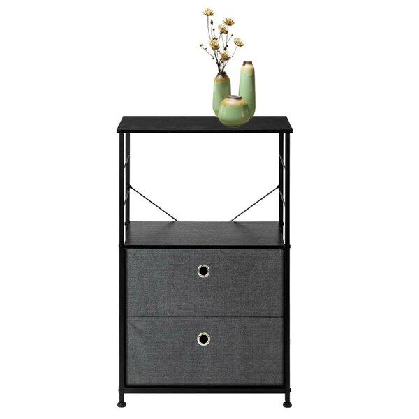 Ebern Designs Geordie Bedside 2 Drawer Storage Chest | Wayfa