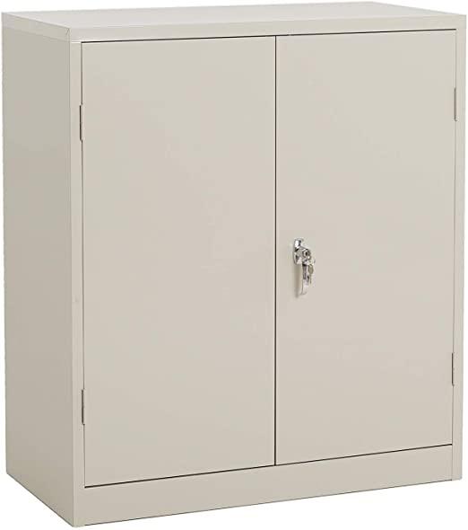 Amazon.com: Steel Storage Cabinet Lockable Metal Storage Cabinets .
