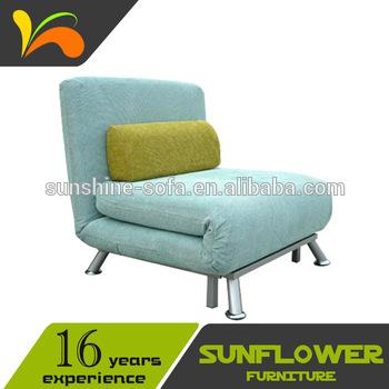 Metal Frame Folding Single Sofa Bed Chair - Buy Sofa Chair .