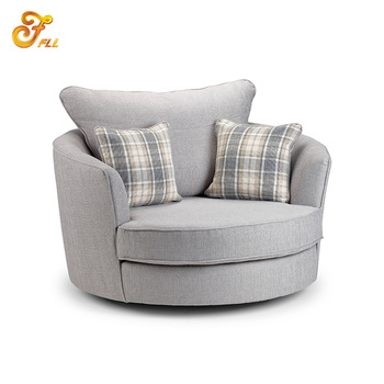 Modern Fabric Round Sofa Chair,Modern Round Sofa,Outdo