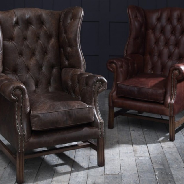 The Chesterfield Co™: Leather Chesterfield Sofas, Armchairs & Mo
