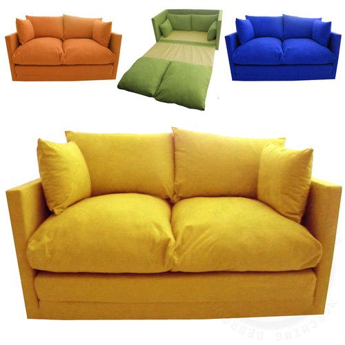 Details about Kids Children's Sofa Fold Out Bed Boys Girls Seating .