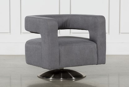 Circuit Swivel Accent Chair | Living Spac