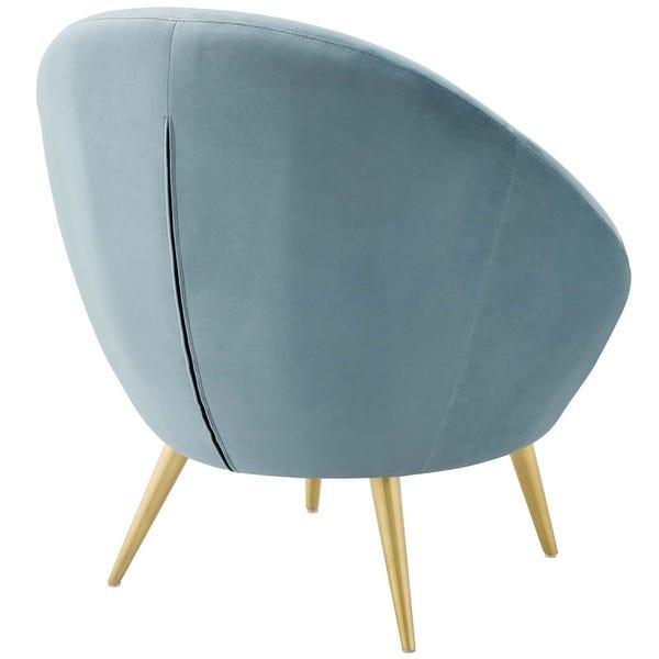 Shop Circuit Performance Velvet Accent Chair - Overstock - 279454