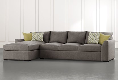 Cohen Foam II 2 Piece Sectional With Left Arm Facing Chaise .