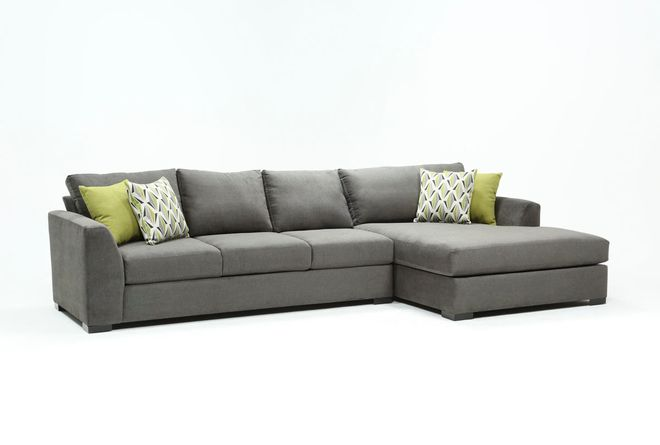 Cohen Foam II 2 Piece Sectional With Right Arm Facing Oversized .