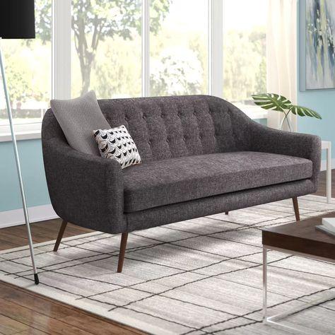 "Collins 73"" Flared Arm Sofa | Sofa upholstery, Sofa, Modern rustic ."