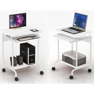 Computer desk ''Compact'' White - Computer Desks - Office .