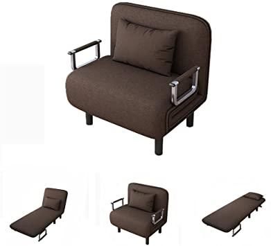 Amazon.com: Folding Sleeper Chair Bed, Sofa Bed Single Sleeper .