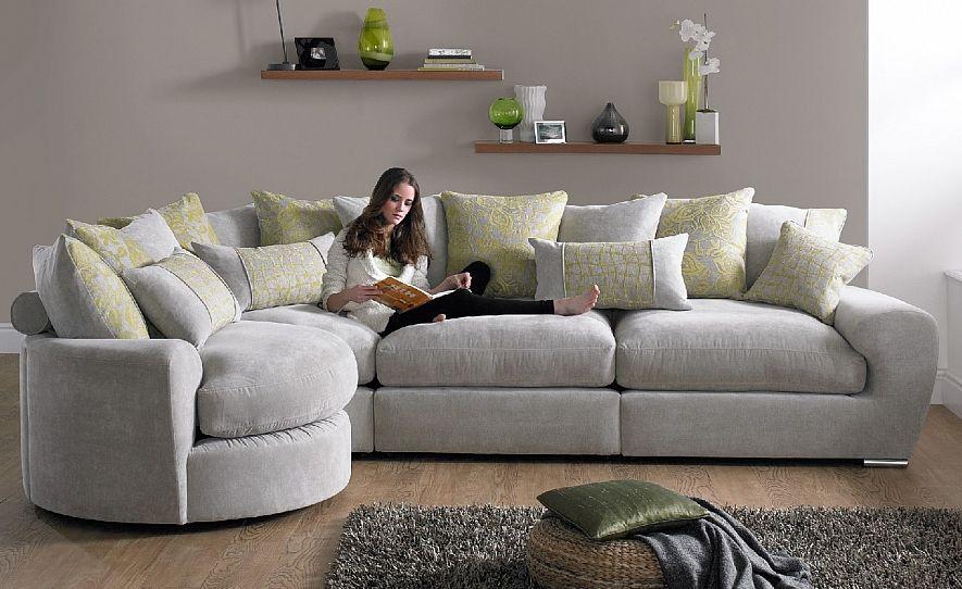 Fabric Sofas and Fabric Corner Sofa Ranges - CSL Sofa Shops UK .
