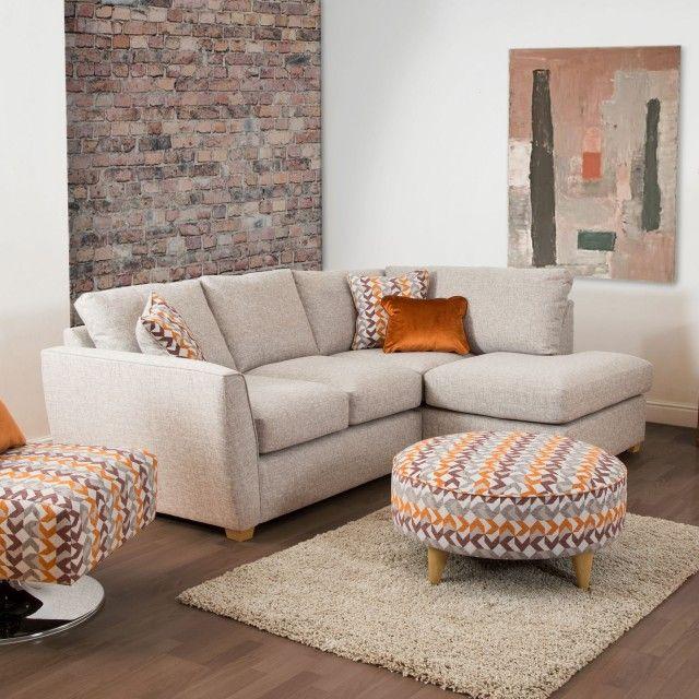 Olsen Corner Sofa | Swivel chair, Corner sofa, Living room dec