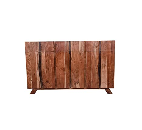 Amazon.com - Wood & Style Furniture Edge Spacious 3 Door Sideboard .