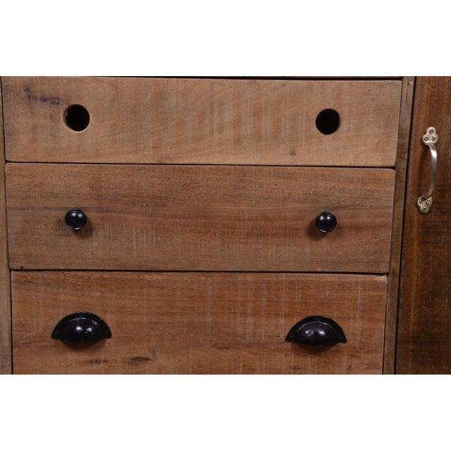 Rustic Colborne Five Drawer Wooden Sideboard, Living Room, Dining .