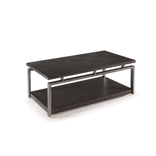 Magnussen T2535 Alton Rectangular Cocktail Table with Casters .