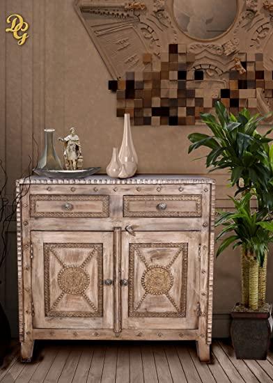 Amazon.com - Booker Two Door Wooden Cabinet, Dining Buffet, 2 .