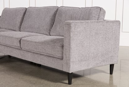 Cosmos Grey 2 Piece Sectional With Left Arm Facing Chaise | Living .