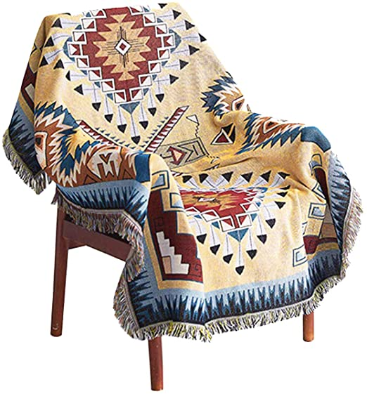 Amazon.com: WarmTide Indian Soft Southwestern Throw Blankets with .