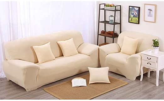 Amazon.com: Boshen Stretch Seat Chair Covers Couch Slipcover Sofa .