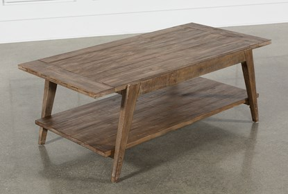 Craftsman Coffee Table | Living Spac