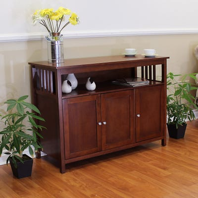 Buy Brown, Mission & Craftsman Buffets, Sideboards & China .
