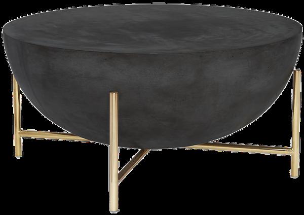 Darbuka Brass Coffee Table | Decori