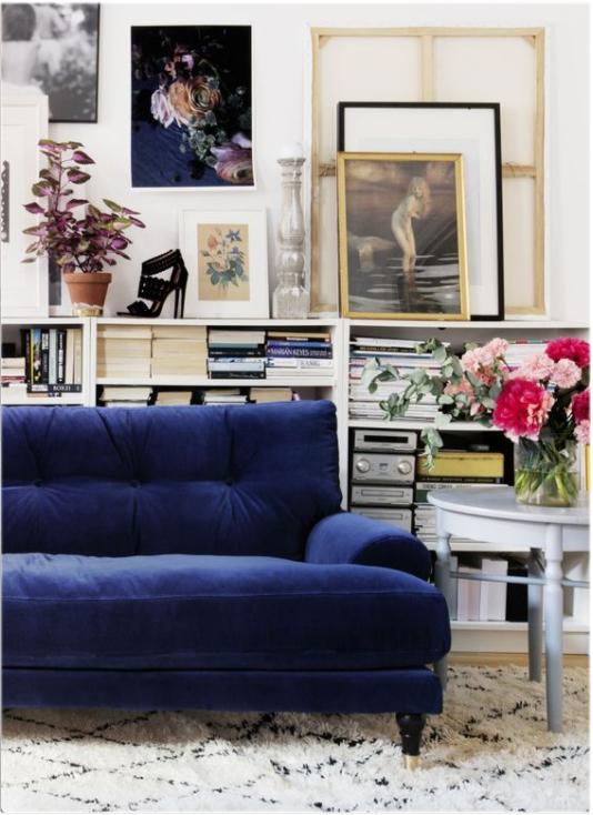Currently Obsessing: Velvet Blue Sofas – My Manicured Li
