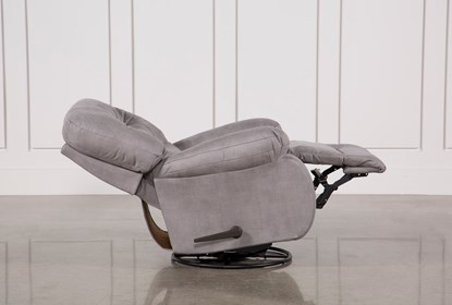 Decker II Fabric Swivel Glider Recliner   Living Spac