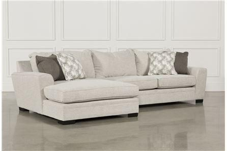 Delano 2 Piece Sectional W/Laf Chaise - Main | Living spaces sofa .