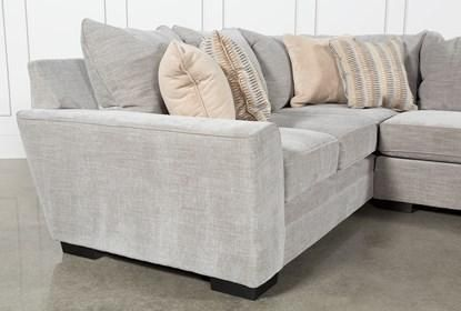 Delano Smoke 3 Piece Sectional - Right | Living room furnishings .