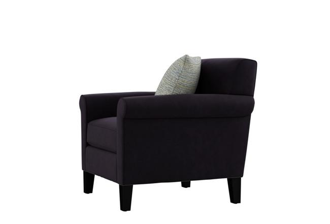 Devon II Brown Arm Chair | Living Spac