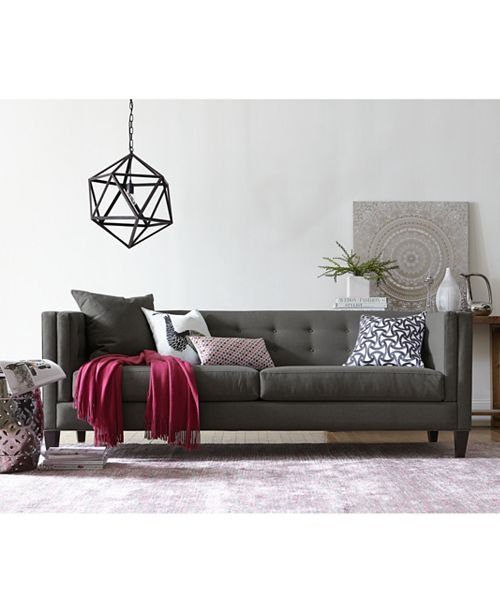 Furniture Braylei Track Arm Sofa Collection, Created for Macy's .