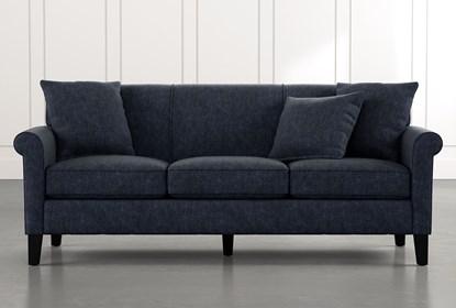 Devon II Navy Blue Sofa | Living Spac