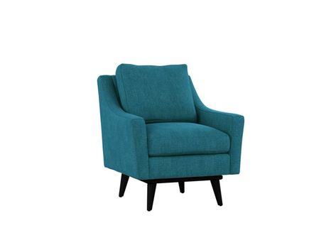 Devon II Swivel Accent Chair | Accent chairs, Chair, Exposed wo