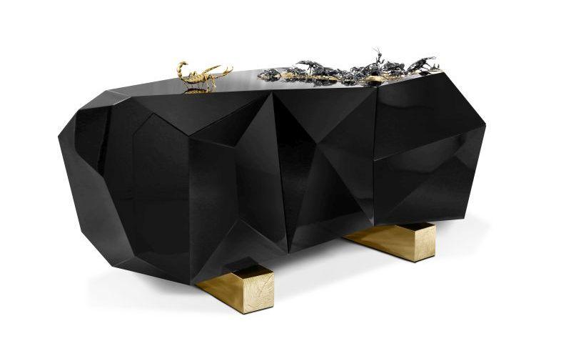 Limited Edition Creepy Crawly Diamond Metamorphosis Sideboard .