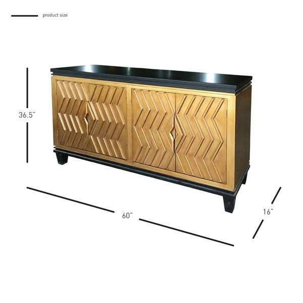 Shop Alessio Artdeco Sideboard - Overstock - 276016