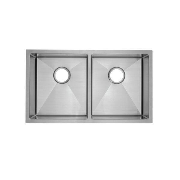 "Swiss Madison Rivage 33"" L x 20"" W Undermount Kitchen Sink | Wayfa"