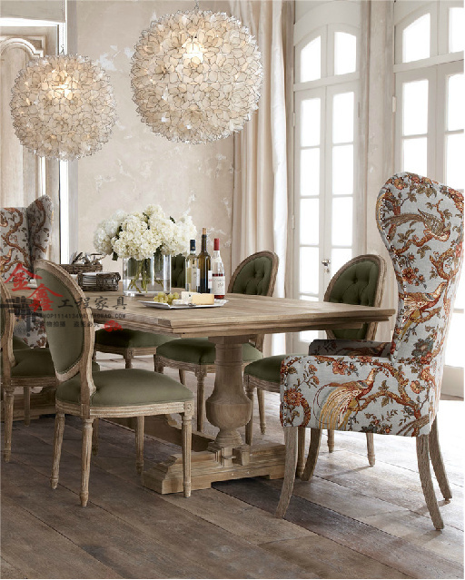 Markor Dining table rustic wood dining tables and chairs idyllic .