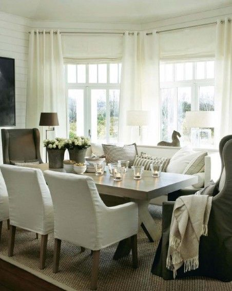 Using the sofa at the table | Dining room cozy, Home decor, Dining .