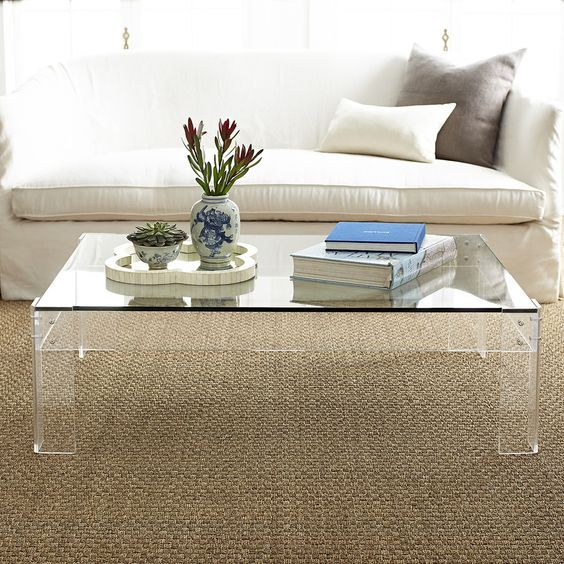Disappearing Coffee Table | Coffee table rectangle, Coffee table .
