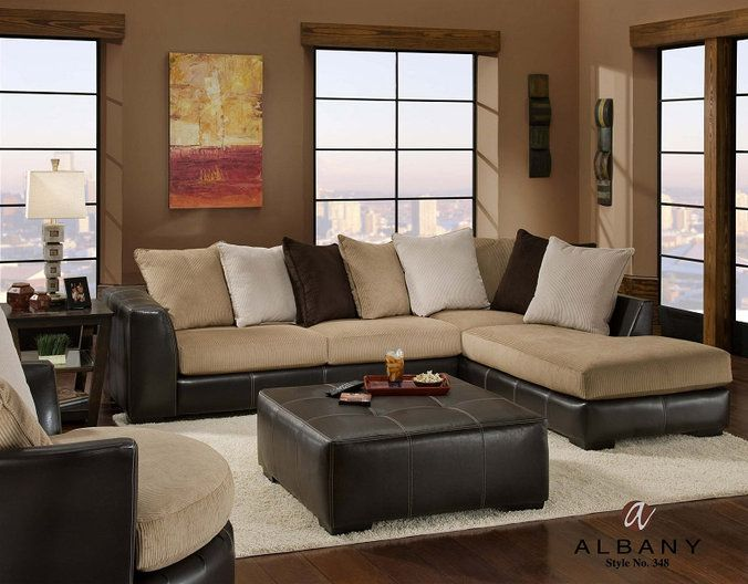 Albany San Marino Sectional at DAWS Home Furnishings in El Paso .