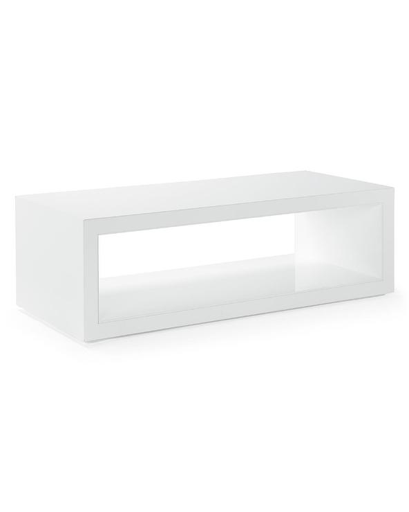 Element Ivory White Rectangle Coffee Tab