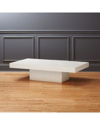 Amazing Deal on Element Ivory Rectangular Coffee Table by C