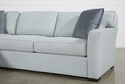 Aspen Tranquil Foam 2 Piece Sectional With Left Arm Facing Armless .