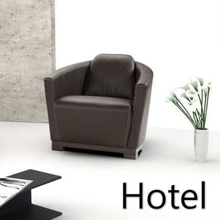 Hollister Leather Chair(Swivel Option/ Ottoman available by .